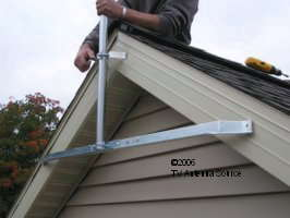 How To Install A Tv Antenna Eave Mount